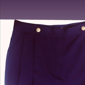 Vintage Purple Highwaisted Dress Pants